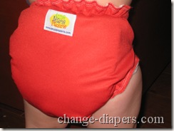 amp diaper back on baby