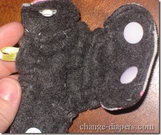 inside mini cloth diaper