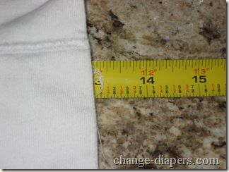 thirsties size 1 prefold length after prepping