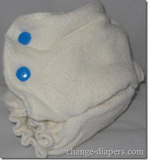 extra small/newborn babykicks fitted diaper