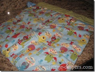 Nikki's Little House Stroller Blanket