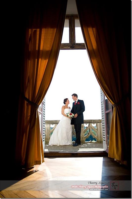 Photographe de mariage au Château de Montigny-le-Gannelon