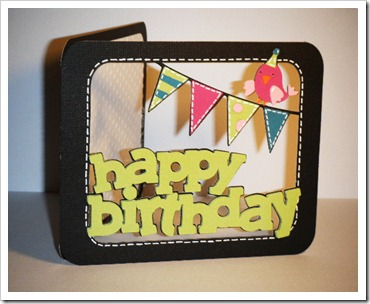 birthday window banner card 5