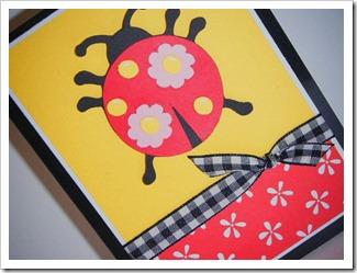 paisley ladybug card sideways