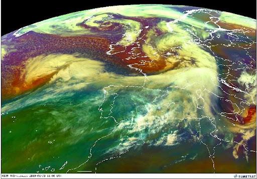 Mapa de satelite