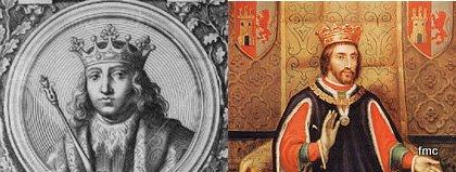 Retratos de Fernando IV y Alfonso XI