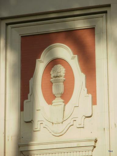 Uno de los dos detalles decorativos del módulo Central