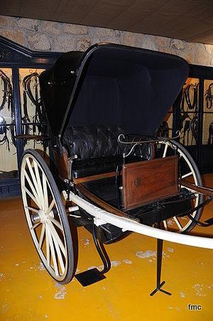 Tílburi en museo.