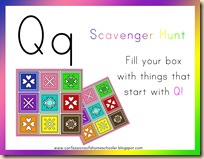 preschool show and tell letter q prek letter q confessions of a homeschooler 918