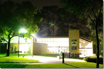 View of MGA by night