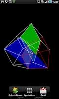Screenshot of 4D Hypercube Live Wallpaper