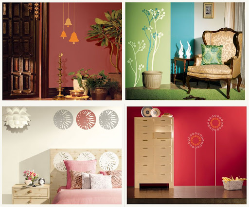Wall decor from Asian Paints Parties Entertaining