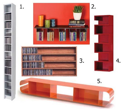 Apartment Therapy - CD Storage Unit