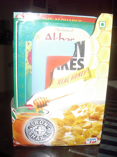 A Magazine Storage Box from a Cereal Box