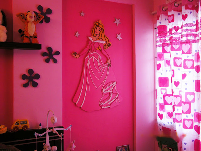 Barbie Themed Mural