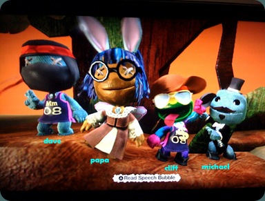 The Fanpop Four in LBP