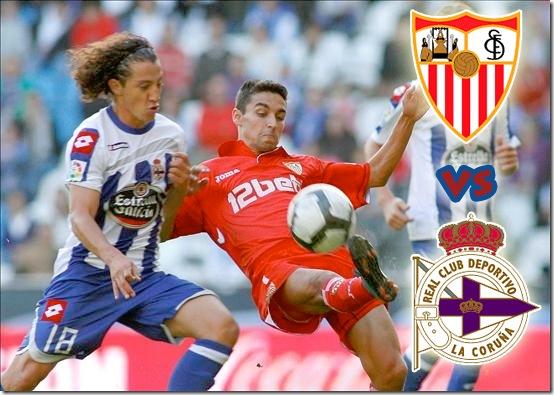 sevilla vs deportivo en vivo liga española 09-10