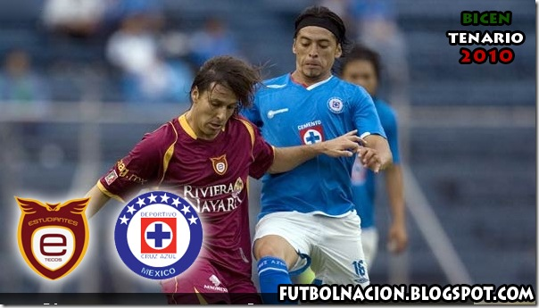 estudiantes tecos vs cruz azul en vivo 2010