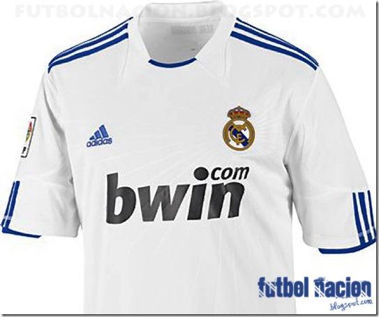 Camiseta Adidas Real Madrid 2010-2011