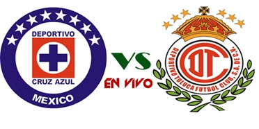 cruz azul vs toluca en vivo