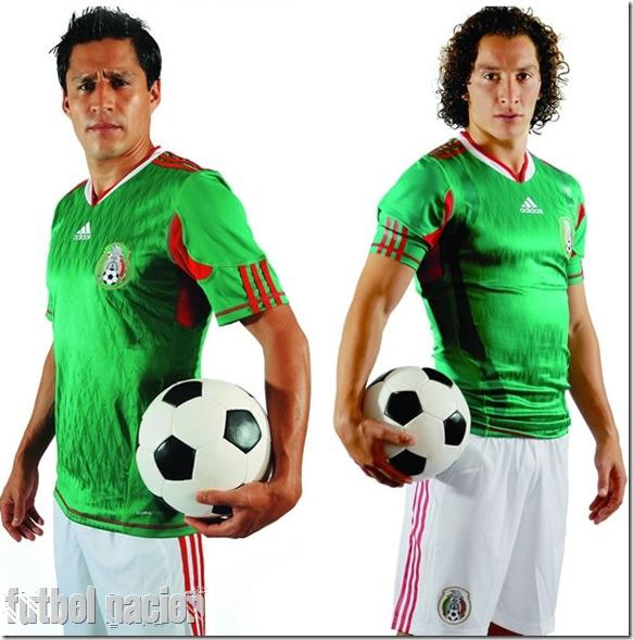 mexico kit adidas sudafrica 2010