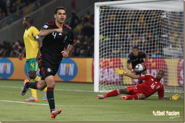 gol rafa marquez vs sudafrica- rafa en la mira de la juventus