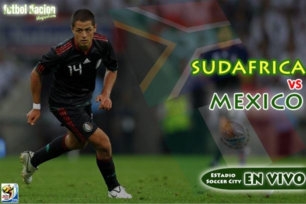 ver sudafrica vs mexico en vivo inauguracion copa mundial fifa 2010