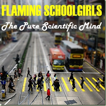 Flaming Schoolgirls - The Pure Scientific Mind