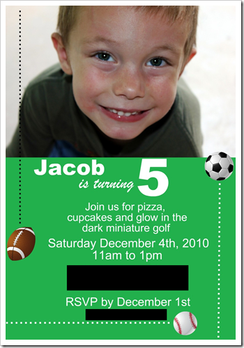 Jacob's Invitations Blog