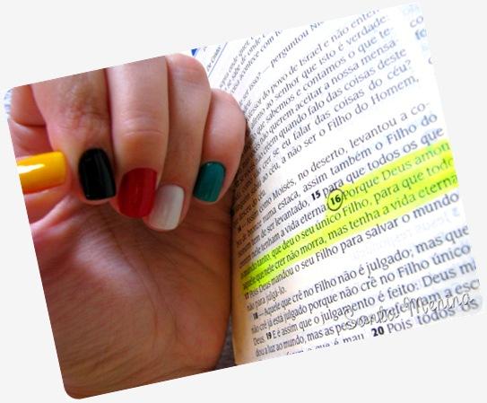 Livro sem palavras nas unhas - evangelismo criativo