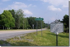 Greenbrier Ghost Marker on U.S. Route 60