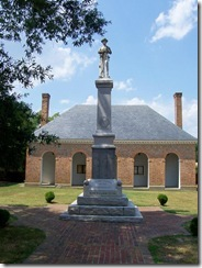 King William Courthouse & Civil War Monument