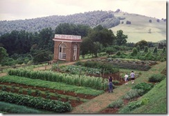 One of the Monticello Gardens