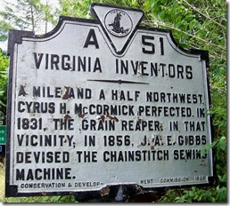 Virginia Inventors Marker No. A-51