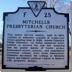 Michells Presbyterian Church Marker F-25