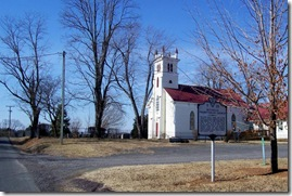 Michells Presbyterian Church with Marker F-25