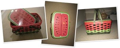 View watermelon longaberger