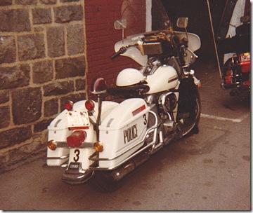 Police Harley1982