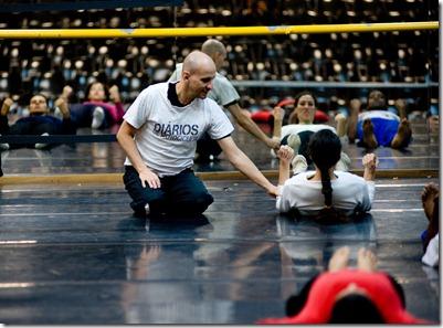 FOTO DE Eugenio Savio Curso de Danca Contemporanea com Tuca Pinheiro Corpo Escola de Danca