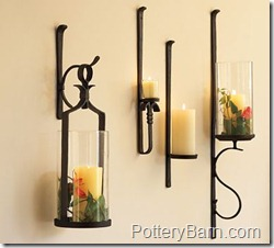 How High To Hang Candle Wall Sconces : The Gathering Place Design: Candle Sconces