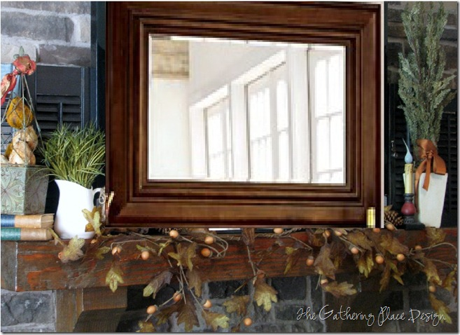 mirror mantel