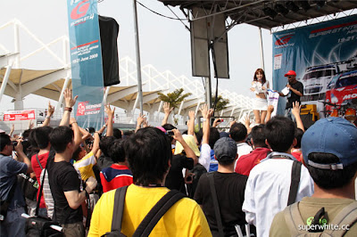 Super GT International 2009 Sepang Day 1: Stage-Race Queens appearance 2