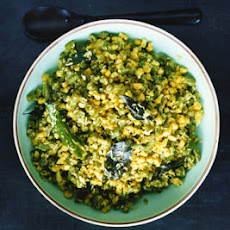 Green Bean, Corn, and Coconut Stir-Fry (Thoren)