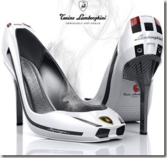 sapatos com salto de fibra de carbono