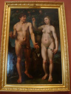 Pintura exposta no Ermitage