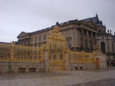 Palácio de Versalhes - Portão de Entrada
