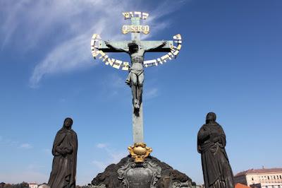 Estátua da Ponte Carlos - Praga