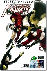 P00135 -  134 - Mighty Avengers #20