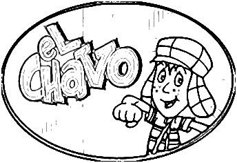 Dibujos para colorear el chavo del 8 animado  Imagui