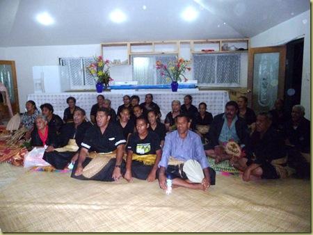 Wesleyan Members of Congregation at a Wake